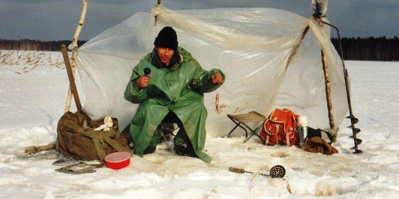 В крещение. Интересная история о ловле на жерлицы зимой