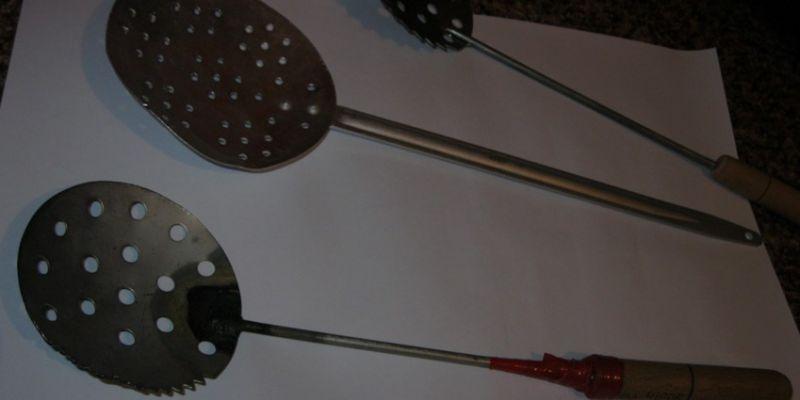 Рыболовный черпак для зимней рыбалки
