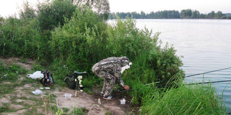 Рыбалка на пруду Салобеляк