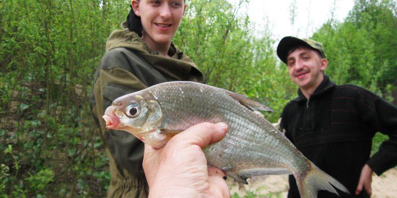 Удачная рыбалка перед армией