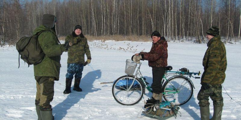 Весенний лед в Сенюшкино