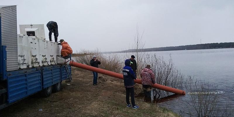 Водоёмы Вологодской и Псковской областей пополнили нельма и щука