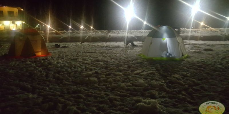 Большой отчёт с ночной рыбалки в Подмосковье