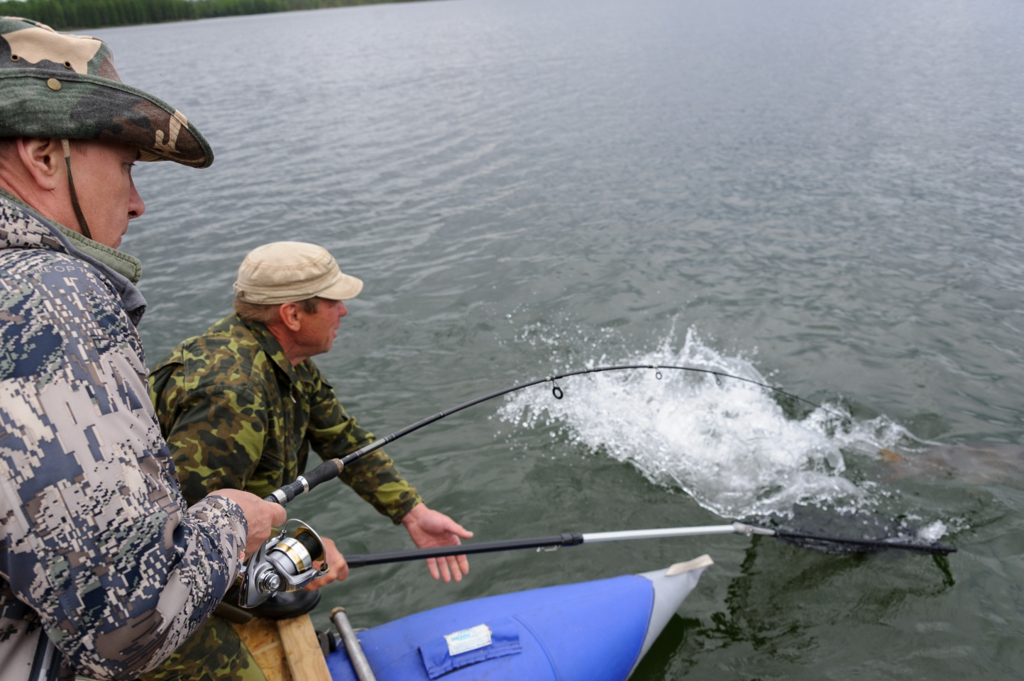 По стопам Владимира Путина: секреты подводной охоты на щуку