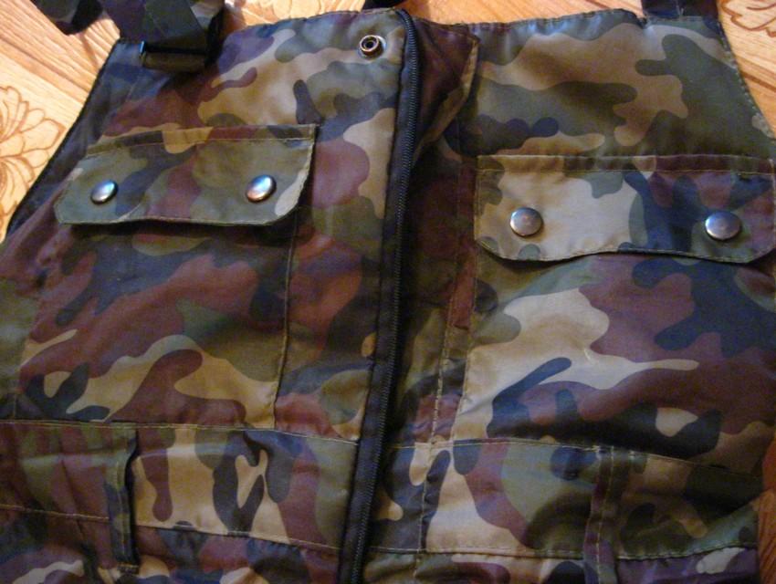 Одежда для зимней рыбалки, карманы на штанах для зимней рыбалки, их должно быть много, фото
