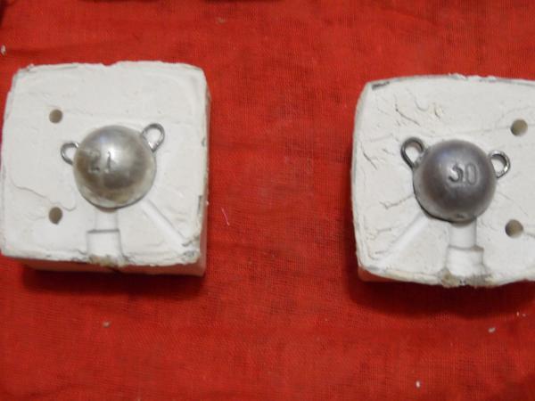 Форма из алюминия для грузил своими руками