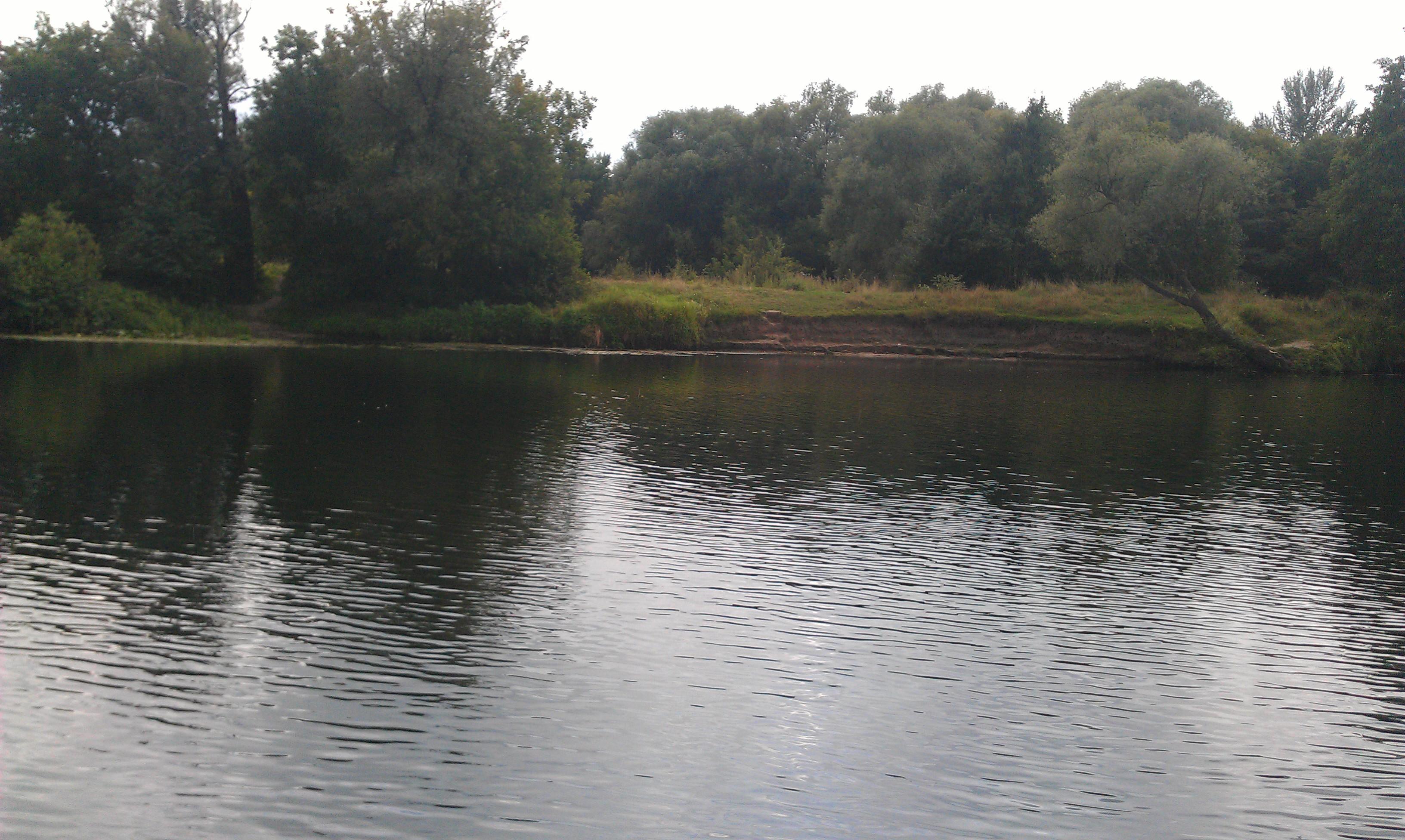 Река для ловли крупной плотвы