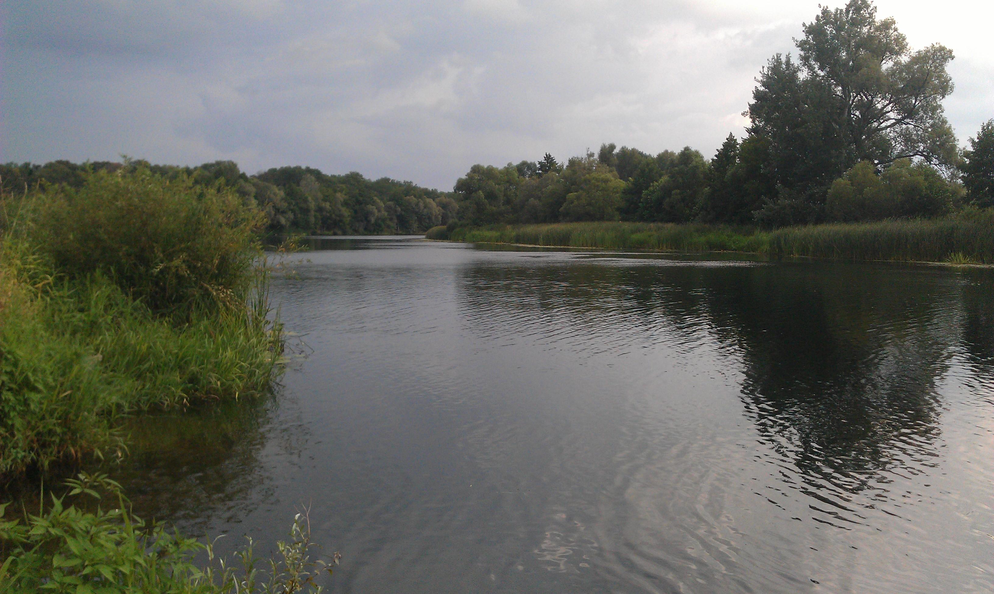 Фото мест ловли крупной плотвы