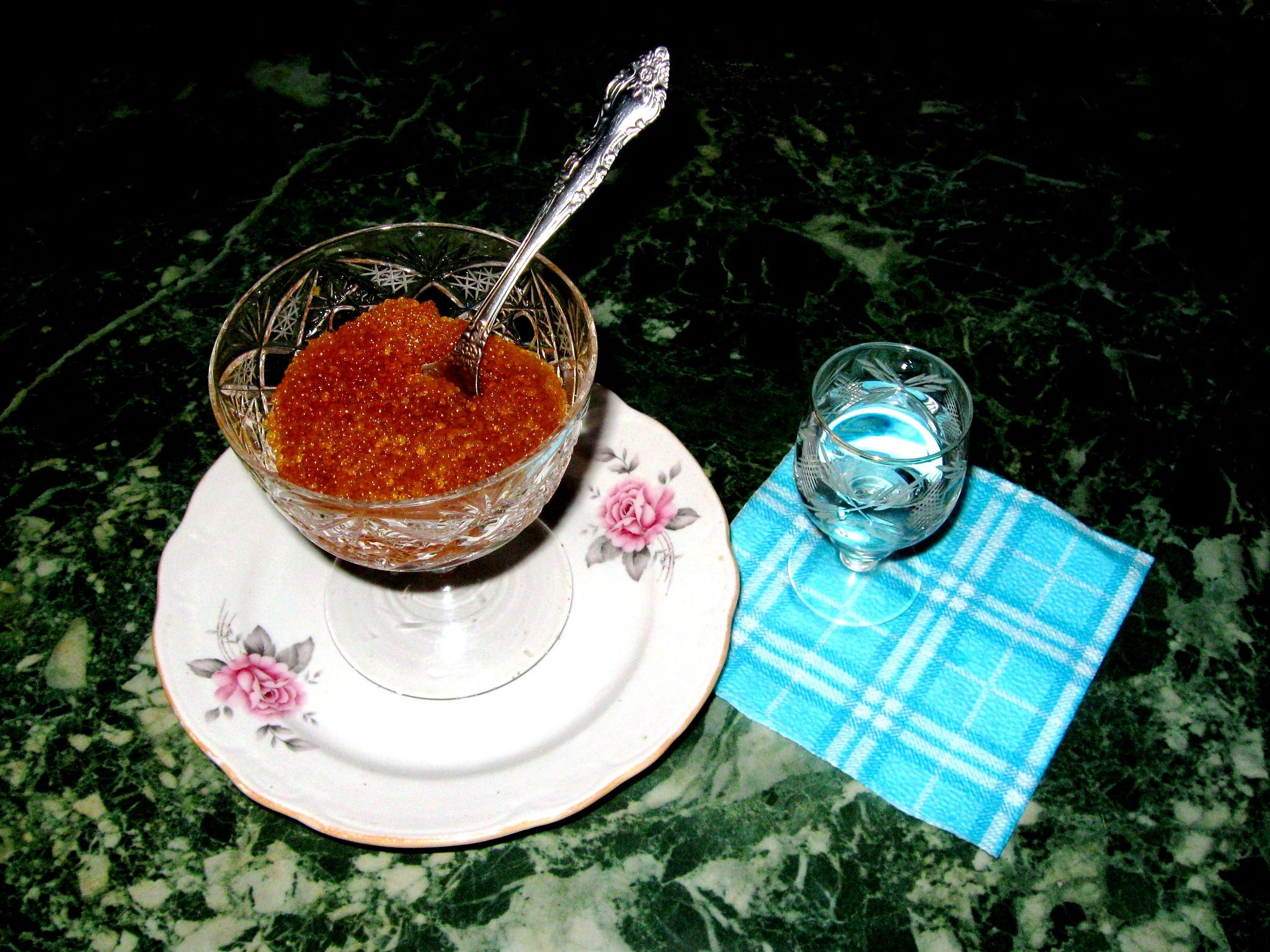 черная икра салат рецепт