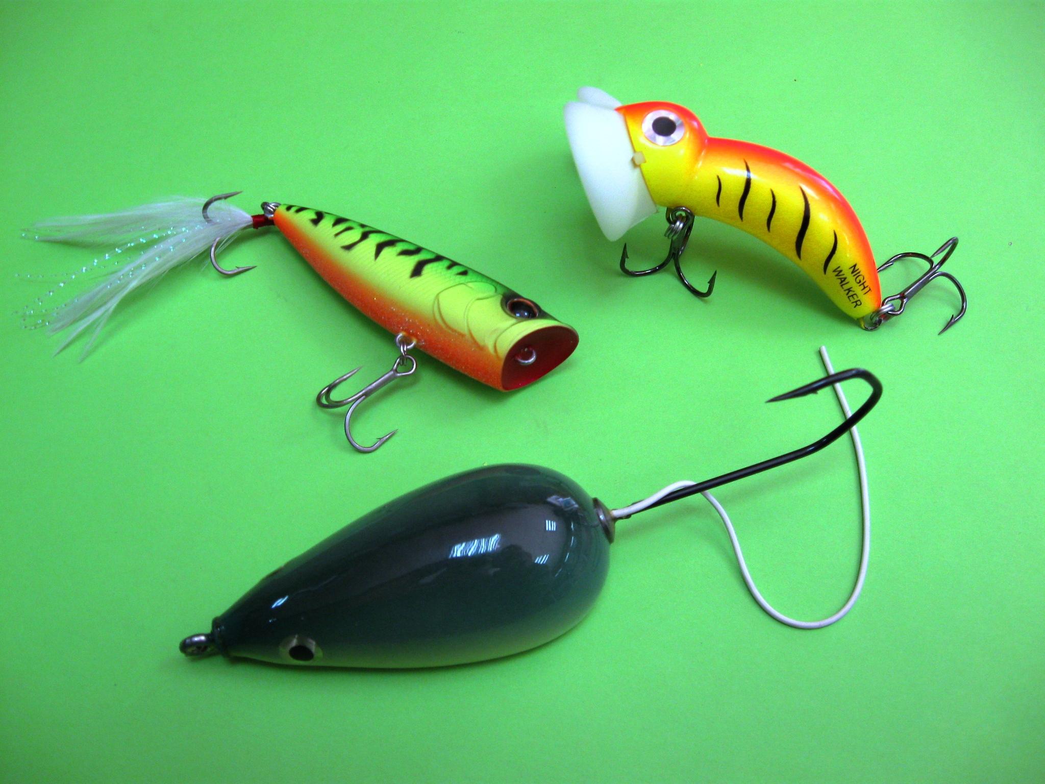 что такое рыболовный попер