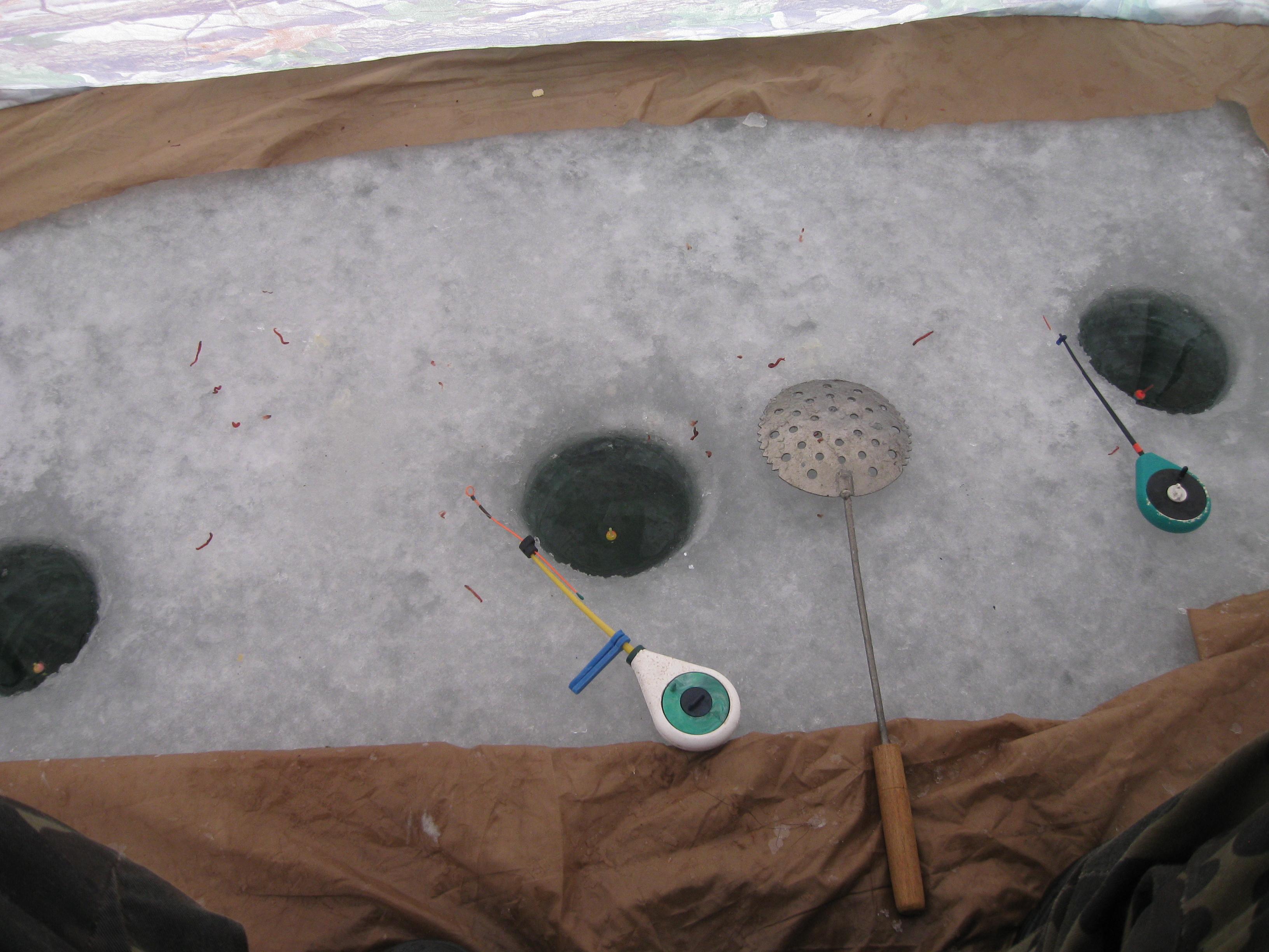 Мартовская плотва, ополонки для ловли плотвы, смотреть фото