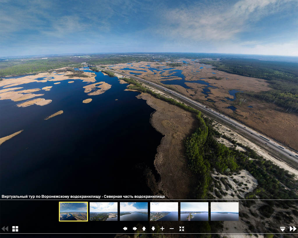 Полная 3D Воронежского водохранилища, смотреть фото водохранилища