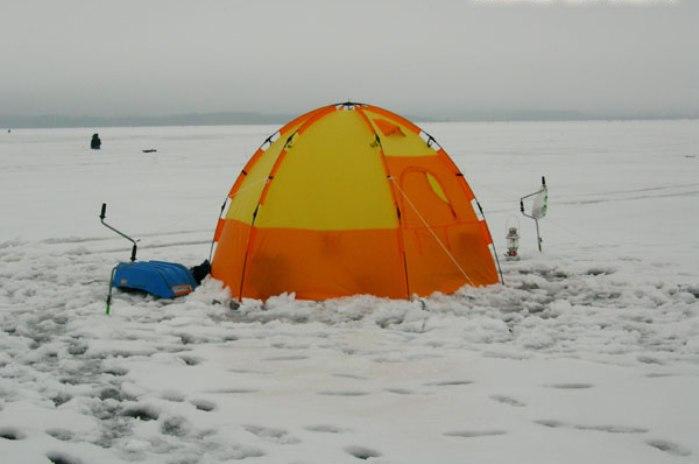 альпийские палатки.