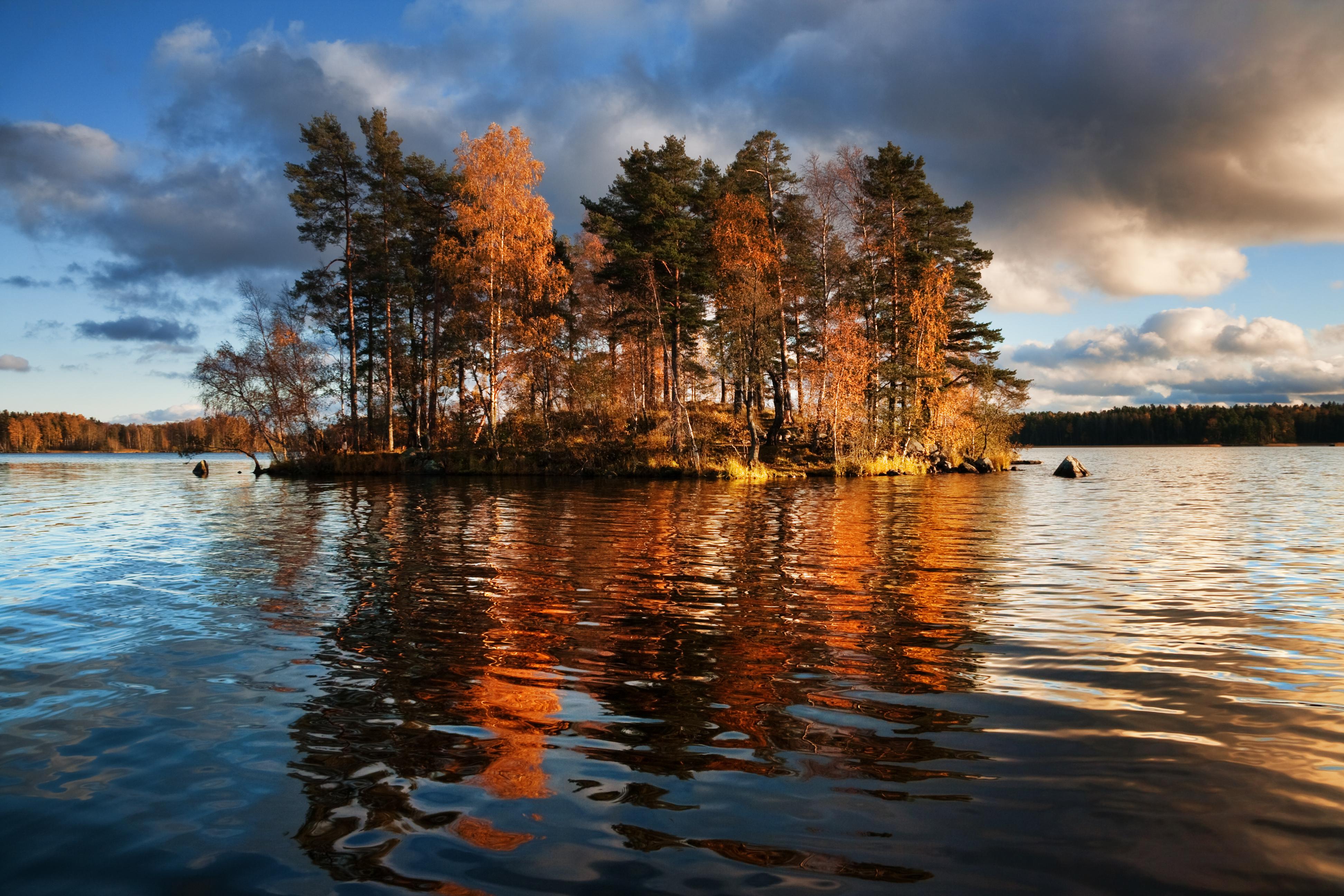 Картинки карелия осень природа